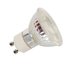 LED QPAR51 GU10 Bulb, 38°, 2700K, 400 lm, dimmable