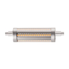 LED lampa, QT-DE12, R7s 118mm, 3000K, 14W