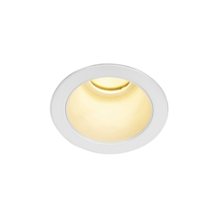 HORN MAGNA LED outdoor recessed ceiling light, white, 3000K, 25°