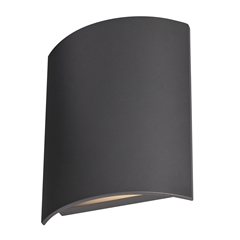 LED SAIL WL, LED outdoor surface-mounted wall light, 3000K, anthracite, IP54