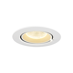 GIMBLE IN 68, Indoor LED recessed ceiling light, white, 3000K