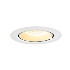 GIMBLE IN 100, Indoor LED recessed ceiling light, white, 3000K