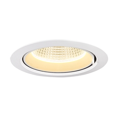 GIMBLE IN 175, Indoor LED recessed ceiling light, white, 3000K