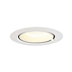 GIMBLE IN 100, Indoor LED recessed ceiling light, white, 4000K