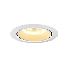 GIMBLE IN 150, Indoor LED recessed ceiling light, white, 3000K