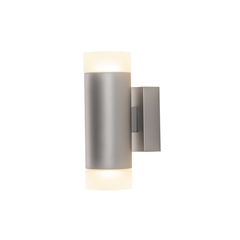 ASTINA UP/DOWN QPAR51, Indoor surface-mounted wall light, grey