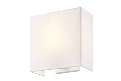 ACCANTO SQUARE E27, Indoor surface-mounted wall light white