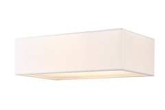 ACCANTO SQUARE E27, Indoor surface-mounted ceiling light white