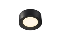 FERA 25 CL DALI, Indoor LED surface-mounted ceiling light, black