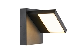 ABRIDOR, Outdoor LED surface-mounted wall light IP55 anthracite 3000/4000K