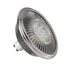 LED lamp, QPAR111, GU10, 4000K, 1100lm, 30°, dimmable