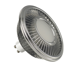 LED lamp, QPAR111, GU10, 4000K, 1000lm, 140°, dimmable