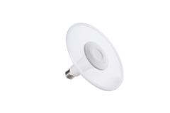 LED DISK lamp, E27, 2700K, 1000lm, 360°, dimmable, white housing