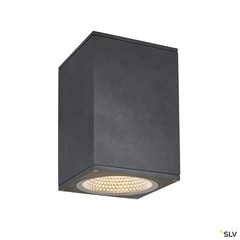 ENOLA SQUARE L outdoor LED surface-mounted ceiling light anthracite CCT 3000/4000K
