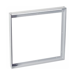 INSTALLATION FRAME, for I-VIDUAL LED panel, srebrna-siva, L/W 62.5/62.5 cm