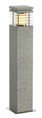 ARROCK GRANITE 70 bollardlight, granite, salt & pepper,E27, max. 15W, IP44