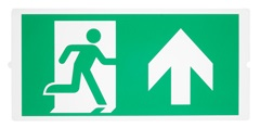 P-LIGHT Emergency, standardsigns for area light, zelena