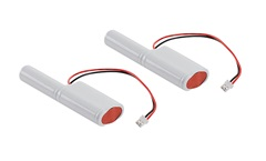 Rechargeable battery forP-LIGHT, Ni- Cad 3.6V, 1000mA,set of 2 pcs.