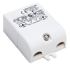 LED DRIVER, 3W, 320mA, incl.strain-relief