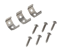 Fastening clips 45° for BATTENLED series, 3 pcs.