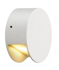 PEMA LED zidna svetiljka, bela,3.3W LED, 3000K, IP44