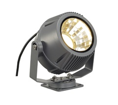 FLAC BEAM LED floodlightstone-siva, with Philips DLMES module 1800lm, 3000K