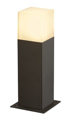 GRAFIT SL 30 bollard light,antracit/bela, E27 EnergySaver, max. 11W, IP44