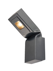 BENDO, outdoor zidna svetiljka, LED, 3000K, antracit