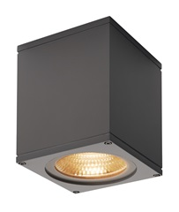 BIG THEO WALL, outdoor zidna svetiljka, Flood down, LED, 3000K, antracit, W/H/D 13/14/13.5 cm