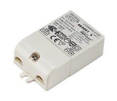 LED DRIVER, 9W, 500mA, incl.strain-relief