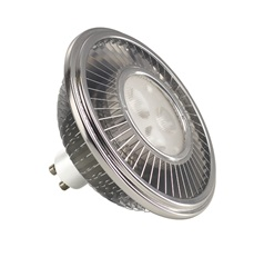 LED ES111 LAMP, 15.5W PowerLED, srebrna-siva, 30°, 2700K