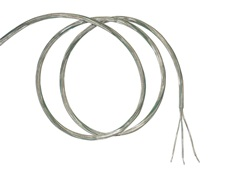 Clear cable, 3x 0.75mm², 10m